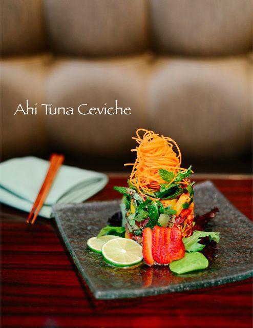 Ahi Tuna Ceviche at Ele Fine Fusion #savannah