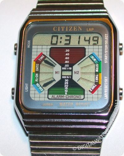 CITIZEN - DQ-5152 - Digital - Vintage Digital Watch - Digital-Watch.com