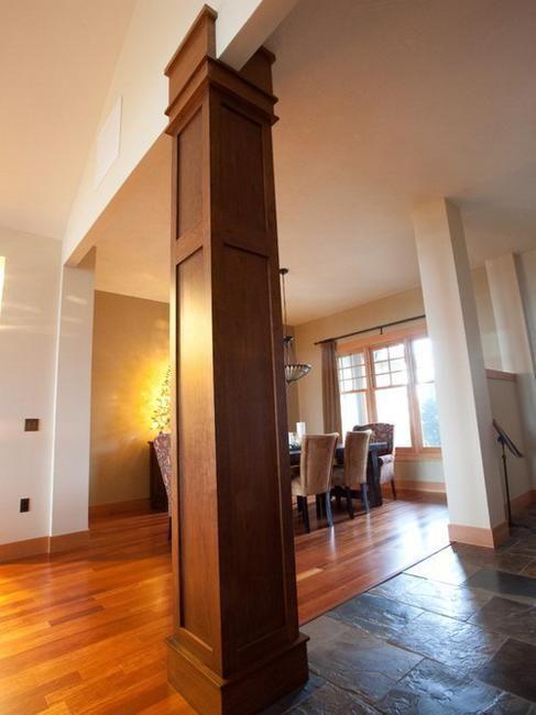 Colonnes et piliers dans la maison sawdust girl for Interior pillar designs