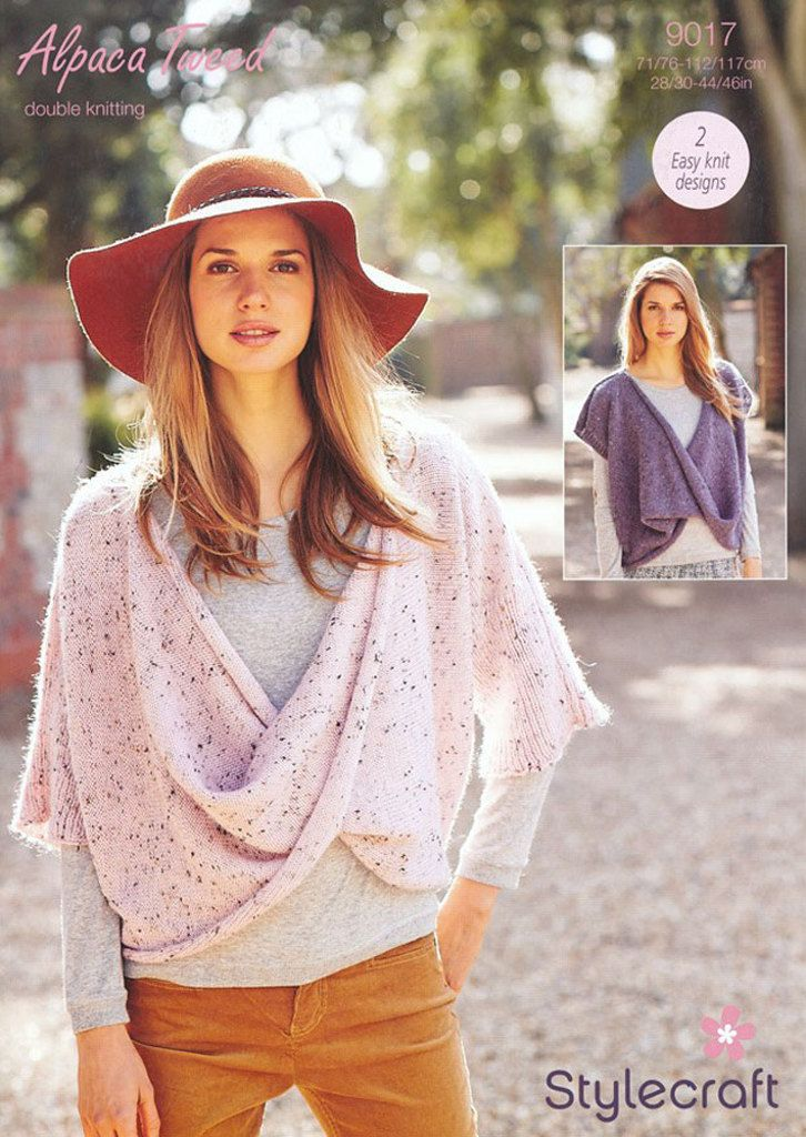 acd9d85a7 Knitting Supplies · Women s Sweaters in Stylecraft Alpaca Tweed DK - 9017.  Discover more Patterns by Stylecraft at