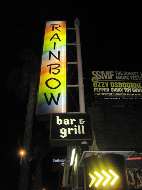 Best rock bar EVER, located on the Sunset Strip in Los Angeles.