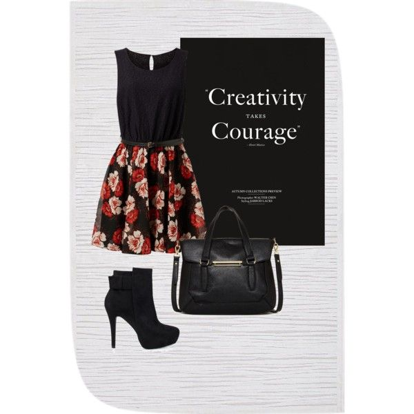 Untitled #11 by zuzulica on Polyvore featuring Nly Shoes, Danielle Nicole and Jaipur