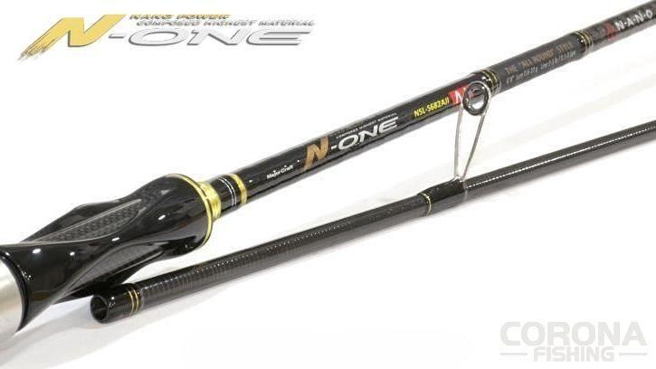 N-One to połączenie najwyższej jakości włókna węglowego Nano Power z rewolucyjną technologią Cross Force Plus #wędkarstwo #wędki #MajorCraft #spinning