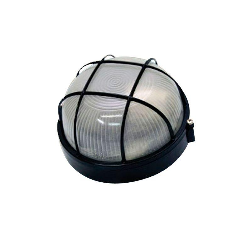 Tartaruga Redonda de Sobrepor em Alumínio Injetado com Grade Preto  Decorlux Você encontra no departamento Iluminação na Irmãos Abage