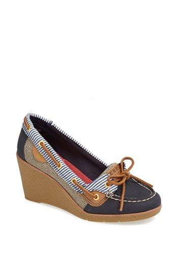 Sperry Top-Sider® 'Goldfish' Wedge (Nordstrom Exclusive) available at #Nordstrom