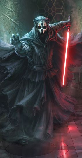 Darth Nihilus prepared for battle.