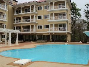 Flat for sale at Nachinola  ,Ground floor, 2 bedrooms, big living, dining, kitchen, 3 bath & toilet, 1 laundry room, walk-in closet, servant room, swimming pool, lift, 100% power back up, car parking, semi furnished with a/c, modular kitchen, light, fan, 24 hrs security, reception, restaurant, intercom, solar heated water, stp plant, gym, spa, 24 hr doctor on call,.For more info contact: mailto:allpropert... #goa #india #villa #property #homes