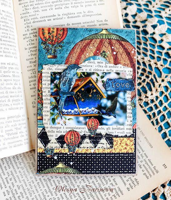 Olesya Barinova: Королевский блокнот и сюрреалистическая открытка