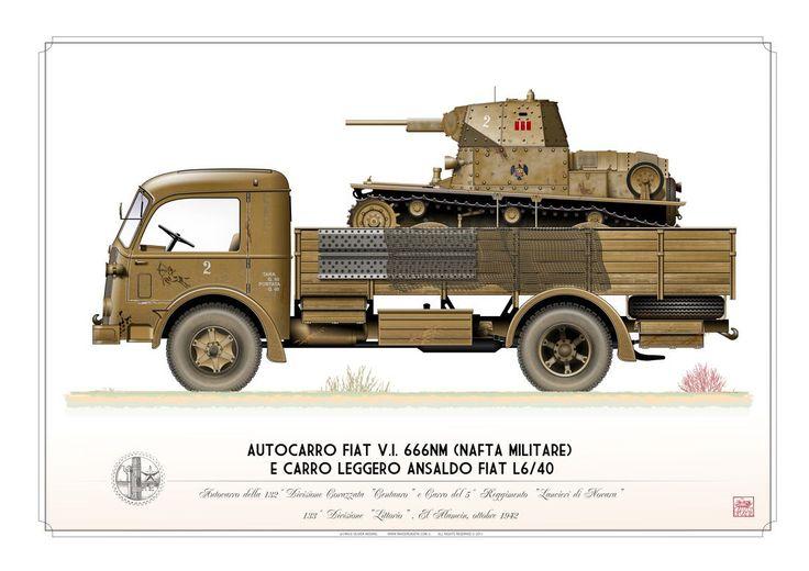 """Regio Esercito . Italian Army (WW2) 132a Divisione Corazzata """"Centauro"""", 5° Reggimento """"Lancieri di Novara"""", 133a Divisione """"Littorio"""". El Alamein, ottobre 1942"""
