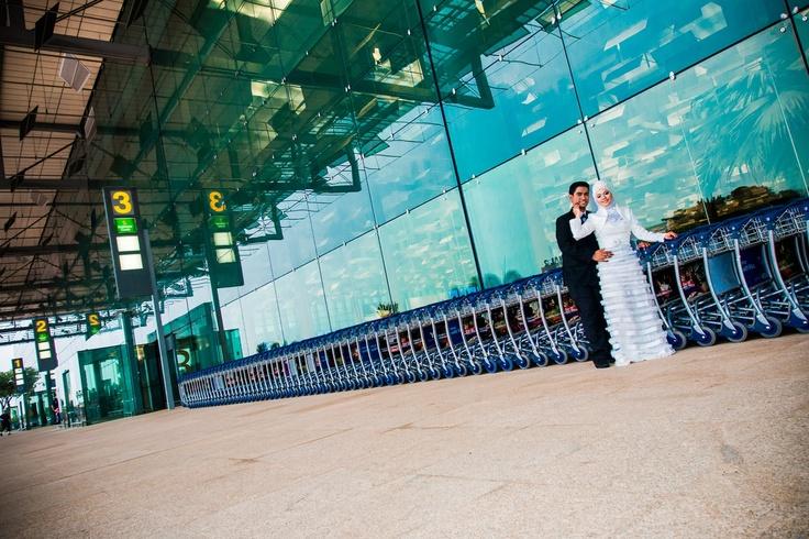 Fadli and Raudhah Pre-Wedding shoot