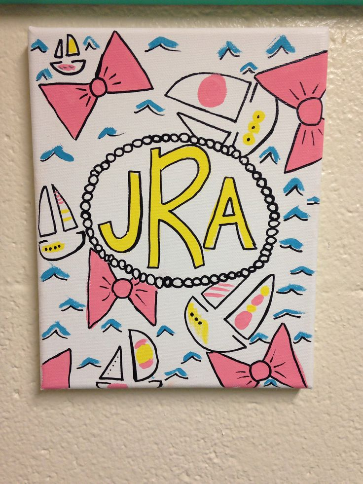 Cute Canvas Ideas For Dorms