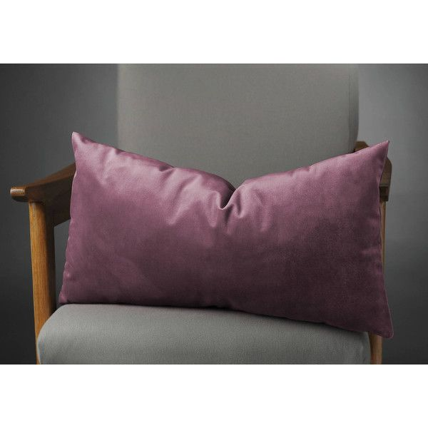 Plum Pillow, Plum Pillows, Plum Cushion, Plum Cushions, Plum Pillow... (42 BAM) via Polyvore featuring home, home decor, throw pillows, plum accent pillows and plum throw pillows