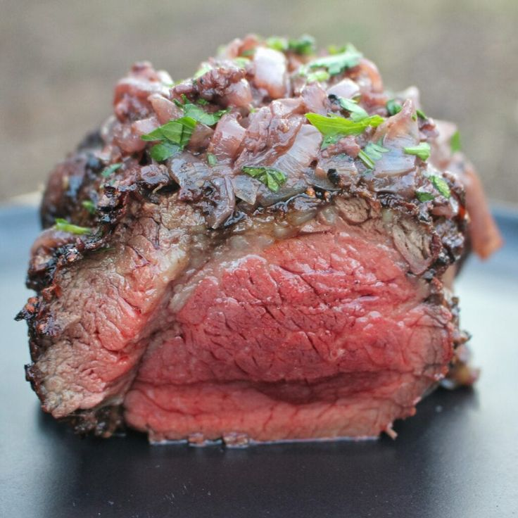 Wagyu Beef Tenderloin with Red Wine Onions Recipe