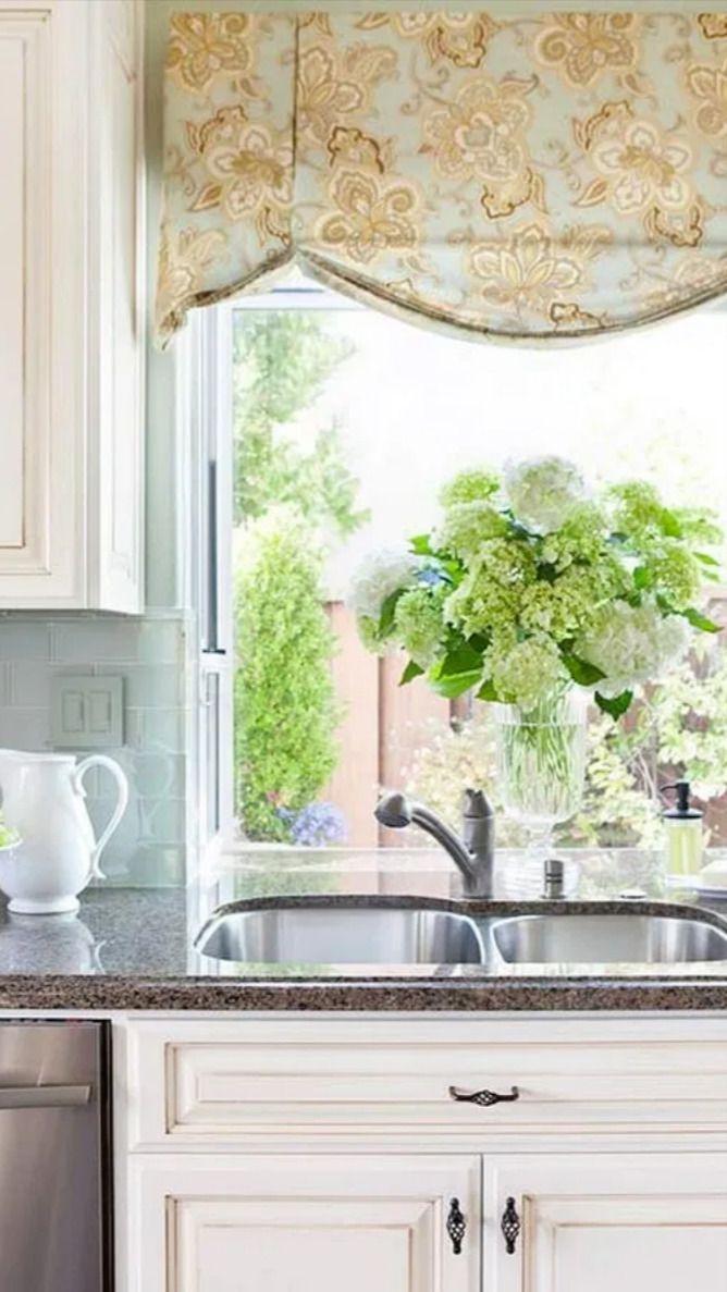9 Bay Window Decorating Ideas Blending Functionality An Immersive Guide By Teresa E Mason Kitchen window treatments pinterest