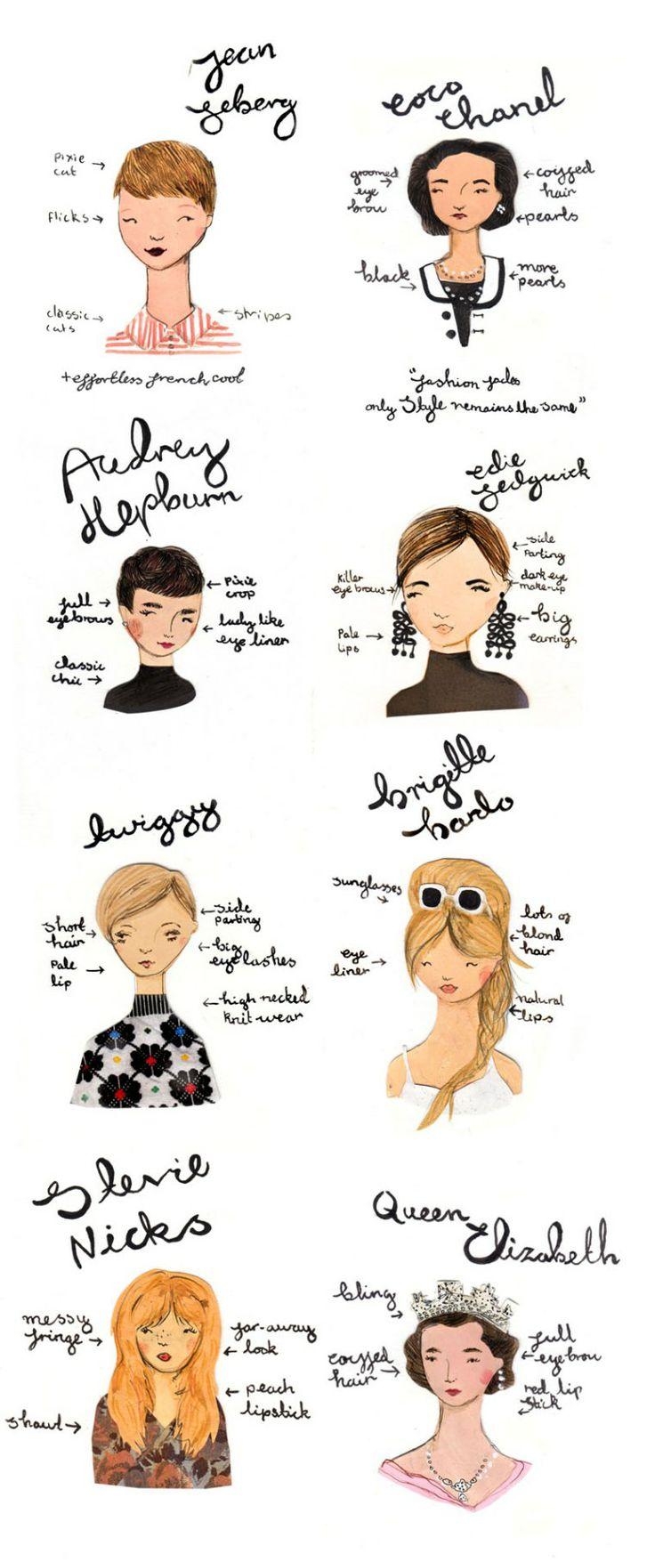 Emma Block illustration style icons