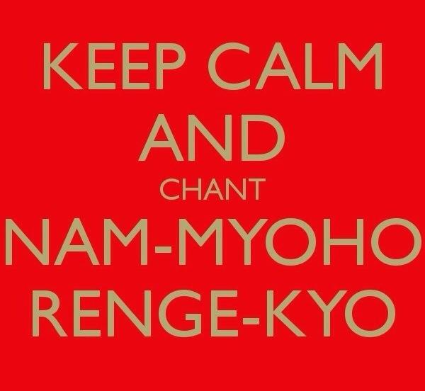 Nam Myoho Renge Kyo!