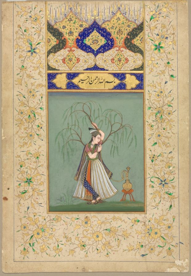 Persian influence on mughal painting