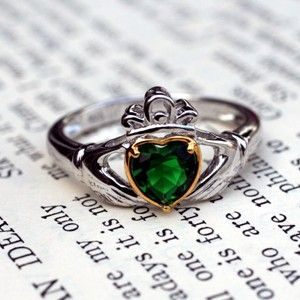 How to wear a Claddagh Ring....      To wear a Claddagh ring on the right hand with the crown turned inwards indicates that the wearer is ...