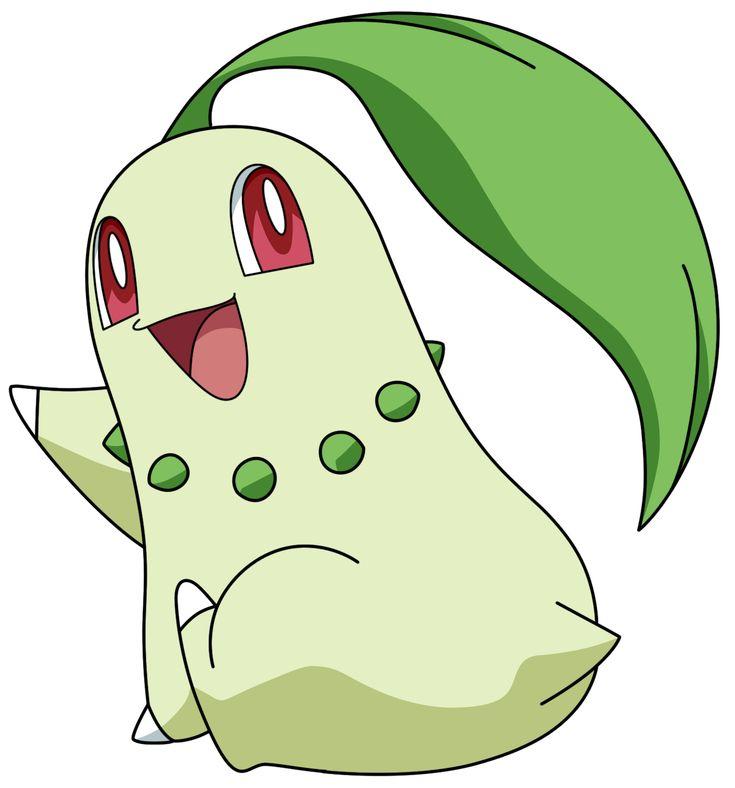 Pokémon NAC Week 6 - Grass - Chikorita by Rachos Nail Love