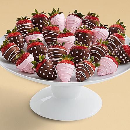 Two Full Dozen It's a Girl Strawberries and other chocolates & gifts at berries….