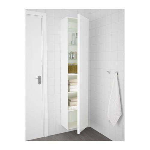 Godmorgon Hoge Kast Hoogglans Wit Ikea Wishlist Mirror