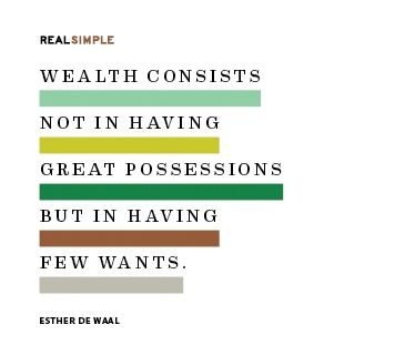 Minters, what's your definition of wealth?