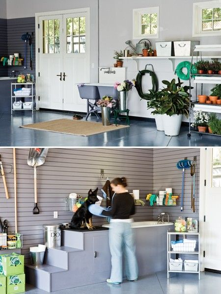 106 best images about dog kennel ideas on pinterest dog for A bath and a biscuit grooming salon