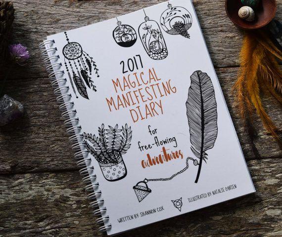 EBOOK 2017 Magic Manifesting Diary for by ErthnAustralia on Etsy