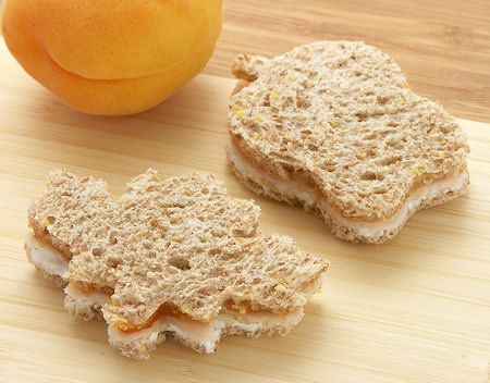 Turkey Apricot Tea Sandwiches