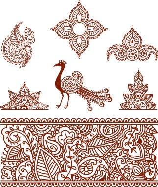 145 best images about indian motifs on pinterest peacocks textile printing and textile patterns. Black Bedroom Furniture Sets. Home Design Ideas