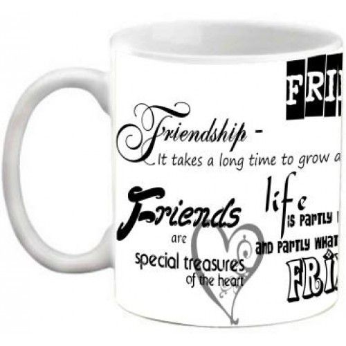 COFFEE MUG - FRIENDSHIP - FRIENDS ARE SPECIAL TREASURES OF THE HEART QUOTES…