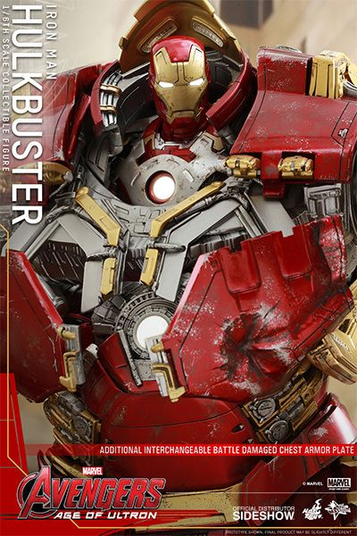 The Hulkbuster Sixth Scale Figure from Hot Toys is now available at Sideshow.com for fans of Marvel's Avengers: Age of Ultron.