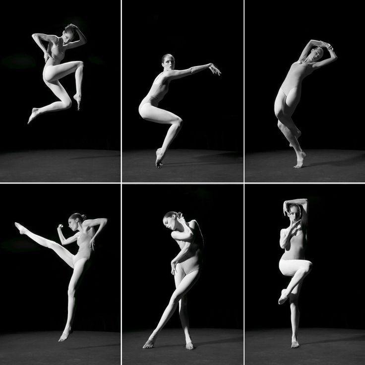 Coco Rocha在《Study of Pose》書中擺出各種時尚又具優美線條的姿勢