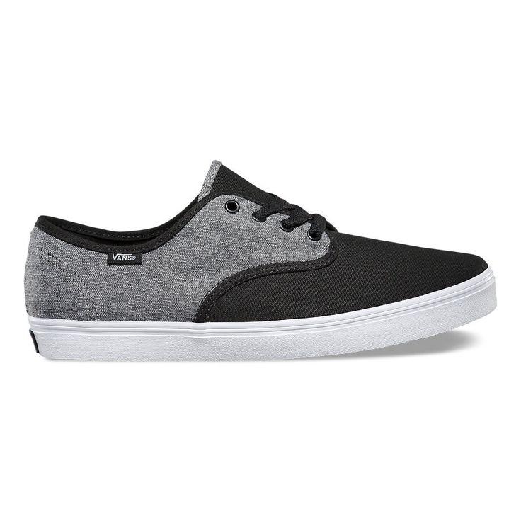 Vans Men's Madero C&C Shoes - Black/Pewter