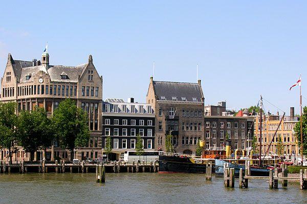 Rotterdam's old port