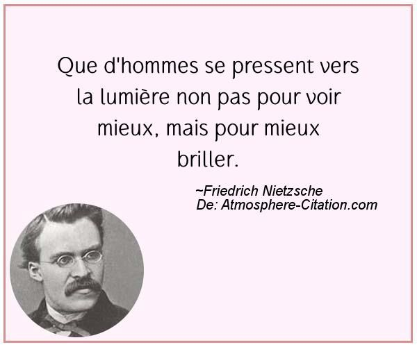 Citation de Friedrich Nietzsche – Proverbes Populaires