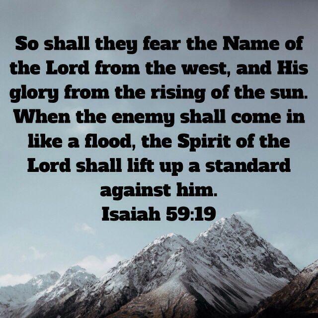* Isaiah 59:19