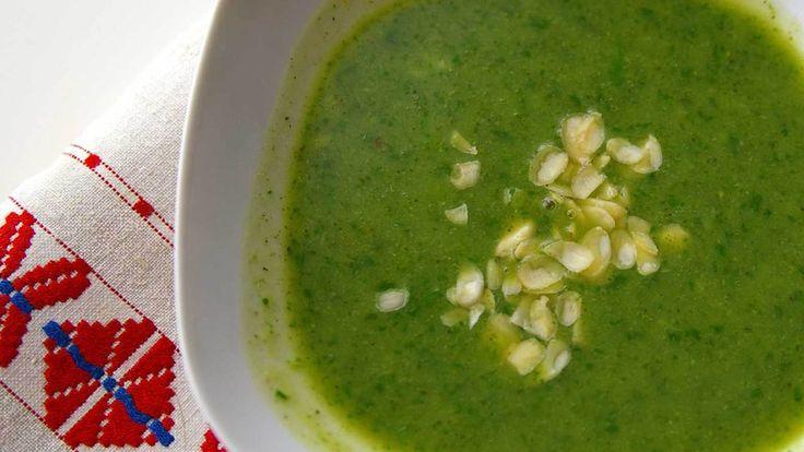 Extra zöld brokkoli krémleves