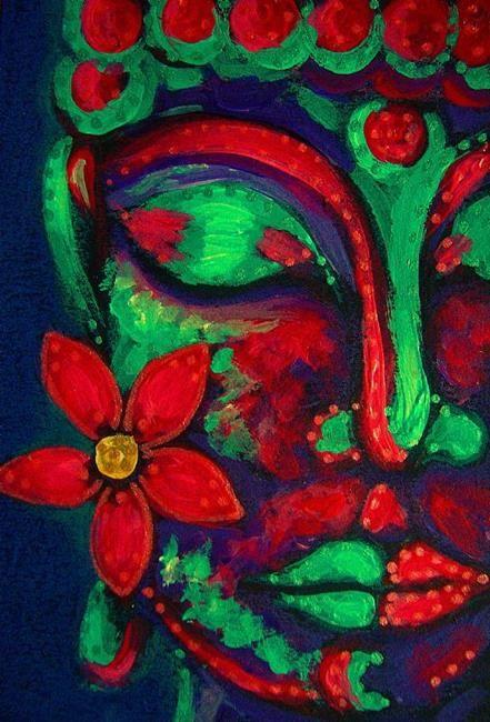 BUDDHA WITH A FLOWER 1 - Cyra R. Cancel