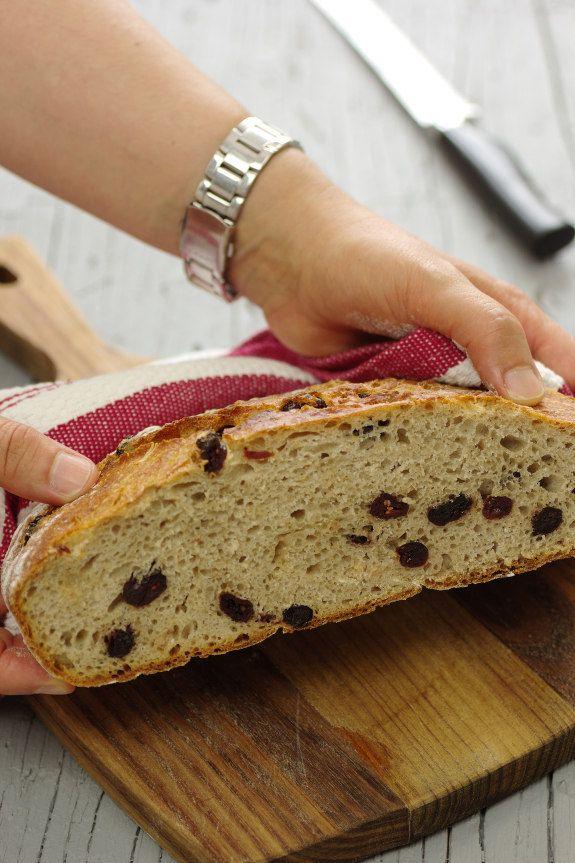 Cinco Quartos de Laranja: Vamos fazer pão: Pão com arandos e trigo sarraceno