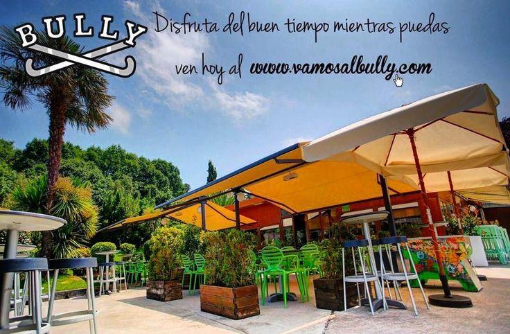 Disfruta del buen tiempo en #donostia #sansebastian mientras puedas... ven a comer hoy a la terraza del #vamosalbully en #aiete #berabera