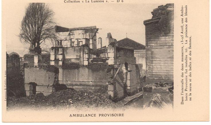 Burned quarter in Adana, 1909