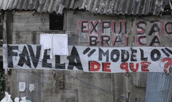 No Rio, moradores lutam contra a remoção de 150 famílias da Favela Santa Marta | Brasil de Fato