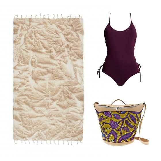 Our three must-have #weekend #beach essentials. Make a statement on the sand in this @MaaBoobeachwear Bordeaux one-piece, the unique printed @Kimale_Studio Ifi bag and @SeaYouSoon Del Coco hammam towel. #wecreateharmony #maaboo #seayousoon  Shop the look here ▷ Maa Boo One Piece: http://bit.ly/1QRrQLD Kimale Collection: http://bit.ly/1SQRN9U Sea You Soon Towel: http://bit.ly/1I79hfl