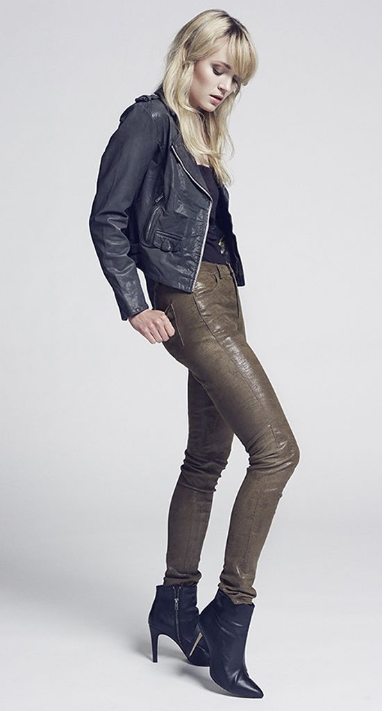 KERI leatherjacket  ROSIE leatherpant