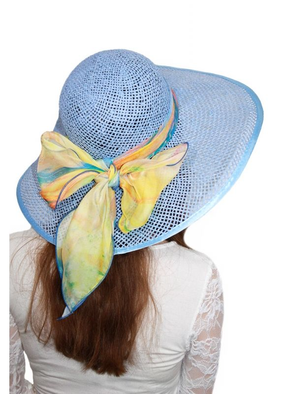 "Соломенная летняя шляпа ""Алушта"""