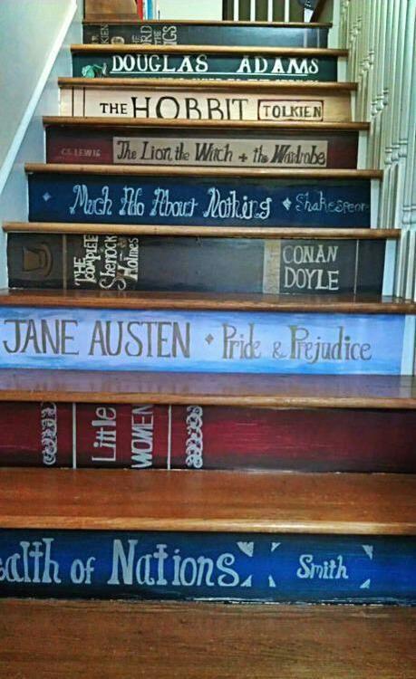 Literary steps!