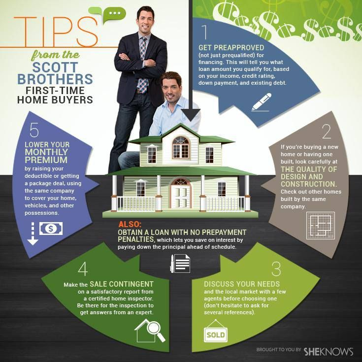 Here are some helpful tips for first-time home buyers that @mrsilverscott and I shared with @SheKnows.com