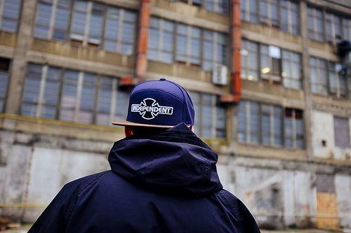 INDEPENDENT OGBC DENIM:TABACCO SNAPBACK CAP
