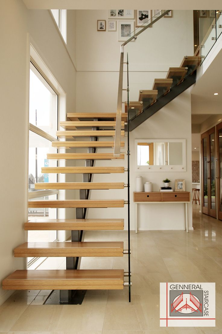 [Modern staircase - Made by Genneral Staircase]    modern staircase | modern stairs | glass balustrade | glass stair balustrade  contemporary staircase | contemporary stairs